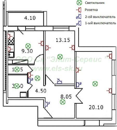 2-х комнатная квартира - ответственность значительно выше.  Дополнительная комната может быть и спальней, и детской.